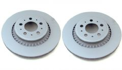 Genuine Volvo XC90 (03-14) Rear Brake Discs (Pair)